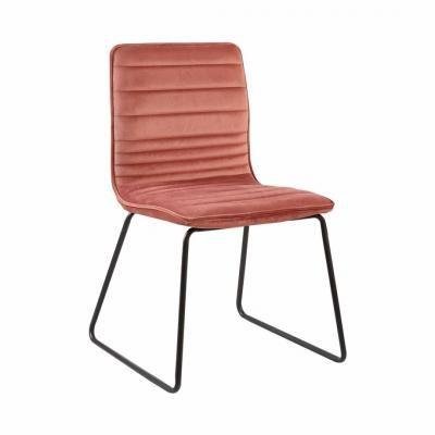 Steppelt bársony szék, púder - VENUS